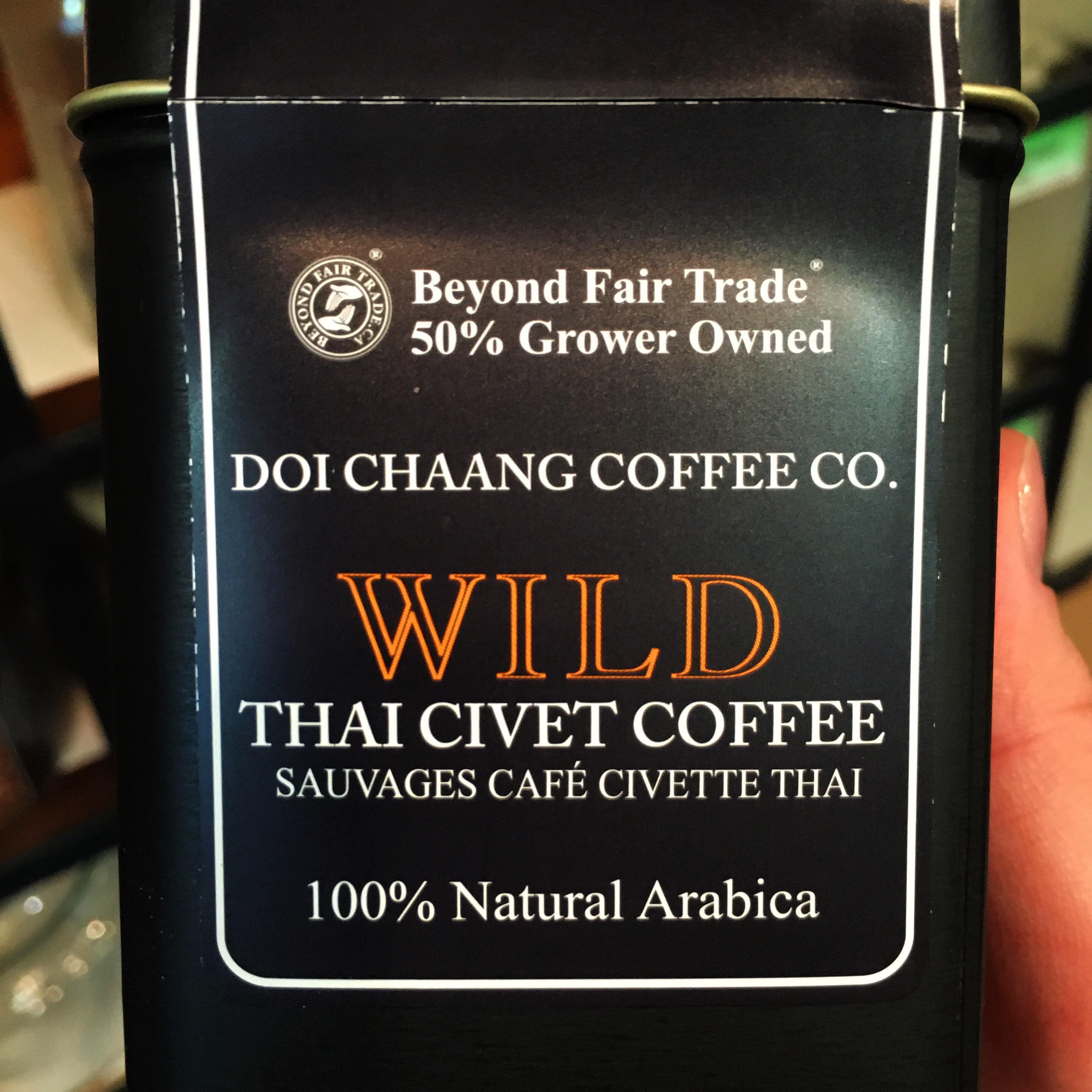 What is wild civet coffee?