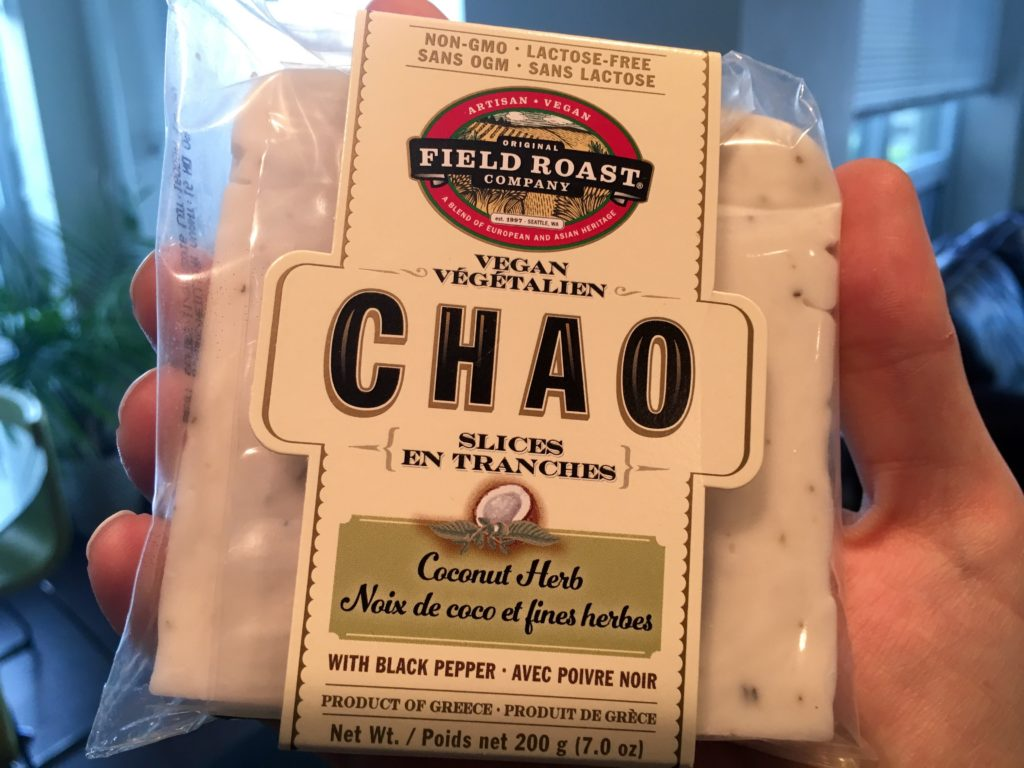Chao vegan cheese review